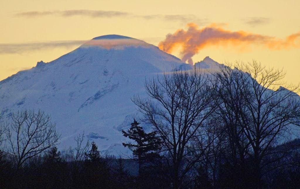 Is Mt. Baker erupting?