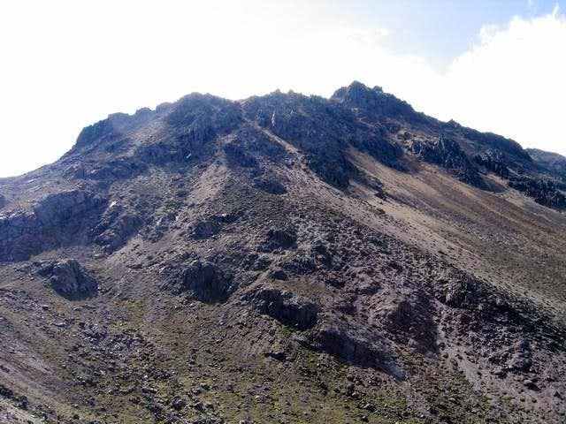 Iliniza Norte summit pile...