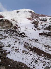 View of the Chimborazo summit...