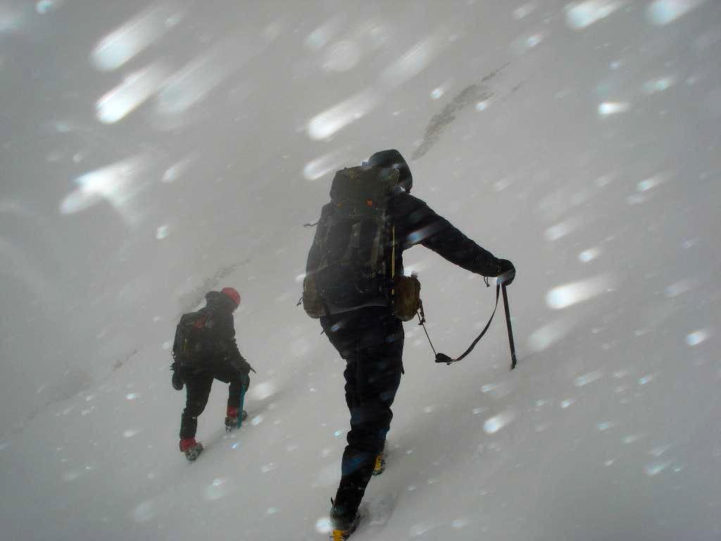 Ascending Mount Baldy Bowl