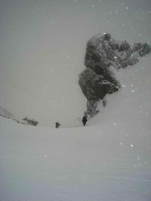 Final ascent of Baldy Bowl