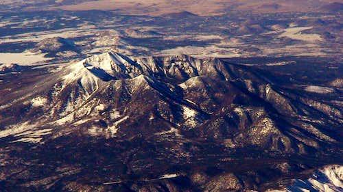 Mountains seen