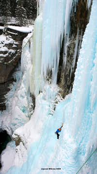 Johnston Canyon, WI 3-5