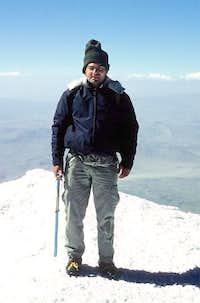 Me, on the summit of Ararat -...