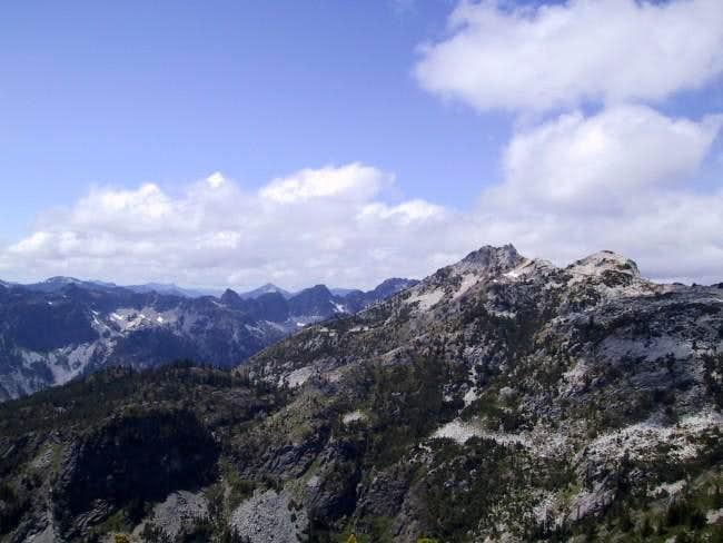 Snoqulamie Mountain as seem...