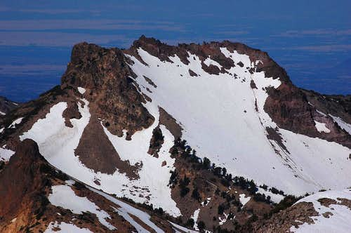 Mt. Diller from Lassen Peak