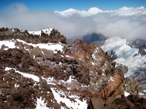 Aconcagua Summit Ridge