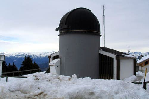 astronomical observatory of monte zugna