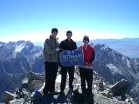 3 Friends at the Top