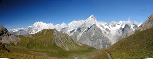 Mont Blanc and Grand Jourasses