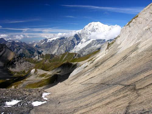Mont Blanc form col Malatrà