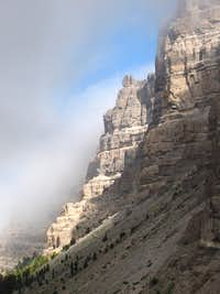 Breccia Cliffs of Mount Sublette, Wyoming
