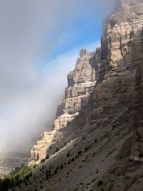 Breccia Cliffs of Mount Sublette, Wyoming