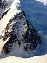 Triangle on Mt Blanc du Tacul