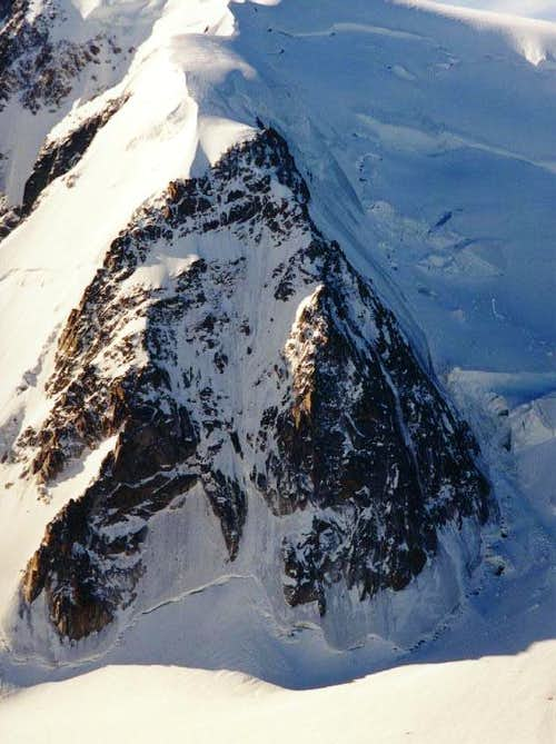 Triangle on Mt Blanc du Tacul
