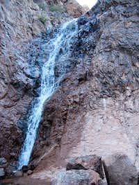 Waterfall in Siphon Draw