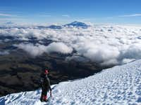 Descending Cotopaxi with...