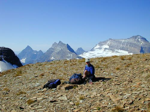 Brown Pass Peaks(GNP)