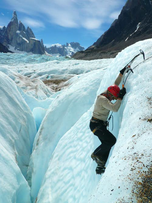 Swingin\' Tools On The Glacier
