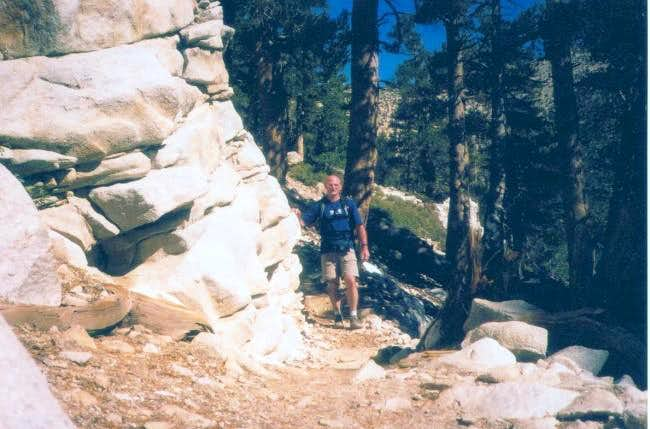 John on trail