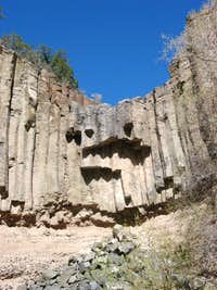 Organ Pipes in Ancho Canyon