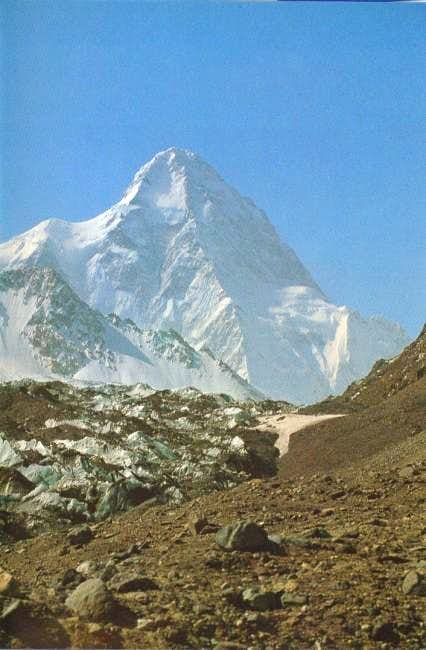 A distant view of K2.
