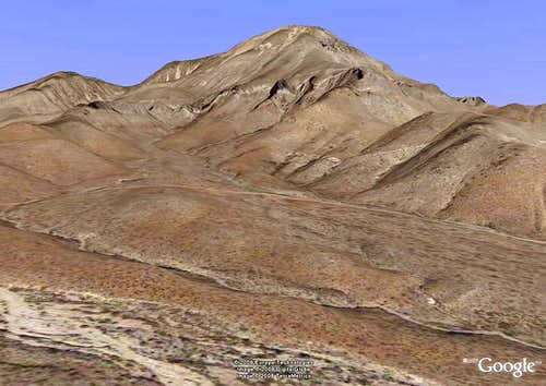 <b>[Not for voting]</b> Google Earth image of Salinas Peak