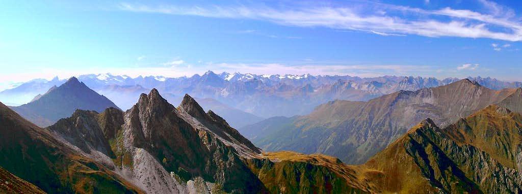 Kl. Kaserer - panorama view