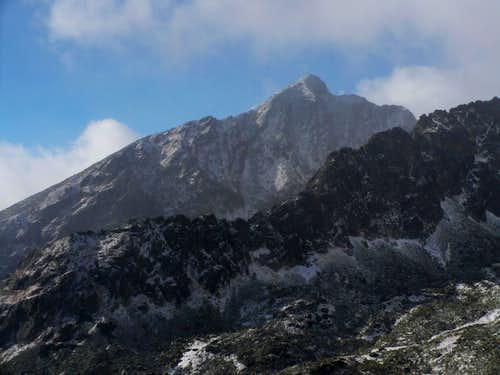 Kriváň (2495 m) from Sedielková kopa (2061 m)