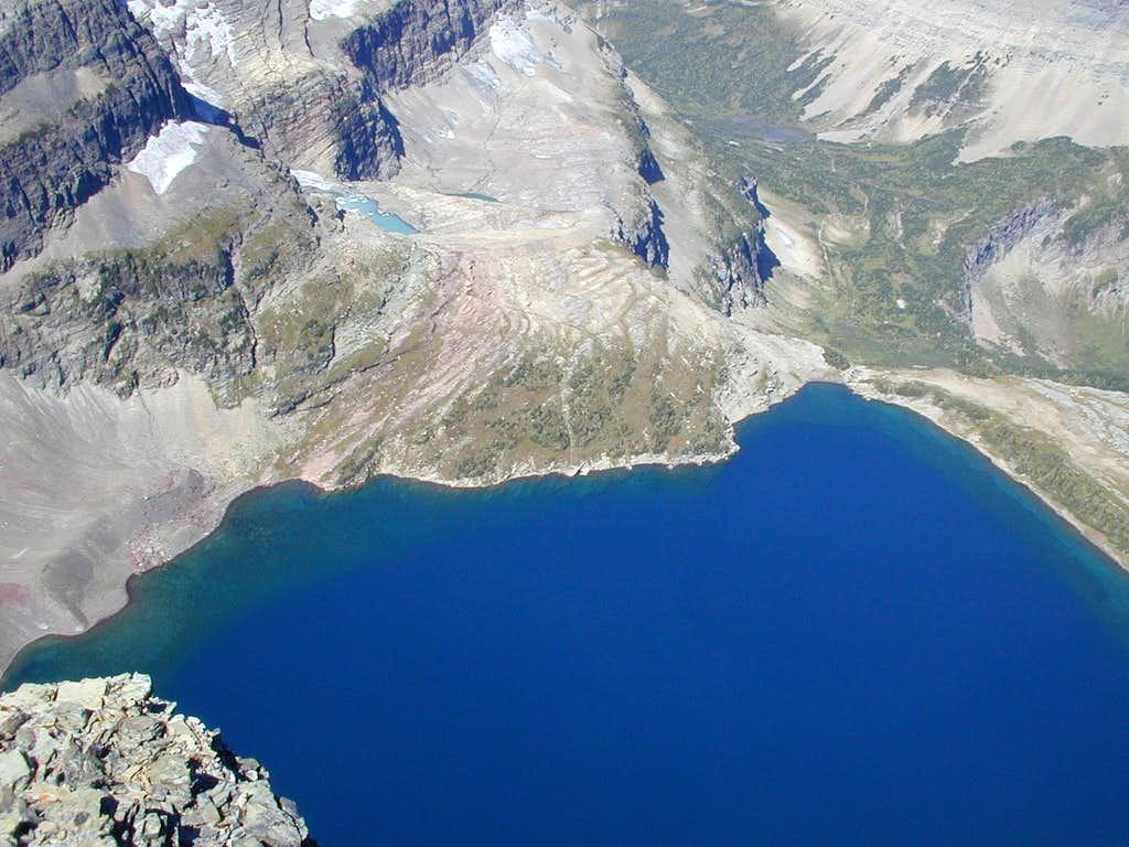 Sue Lake from Mount Kipp