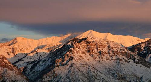 Provo Peak Sunset