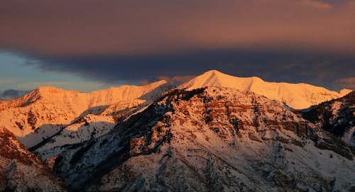 Provo Peak Sunset
