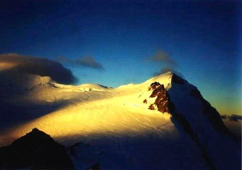 Sunrise on Mt Aylmer