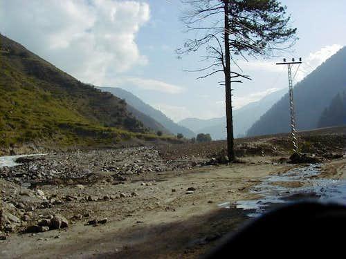 Balakot,  gateway to Kaghan valley, Pakistan