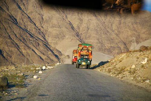 On Karakoram Highway