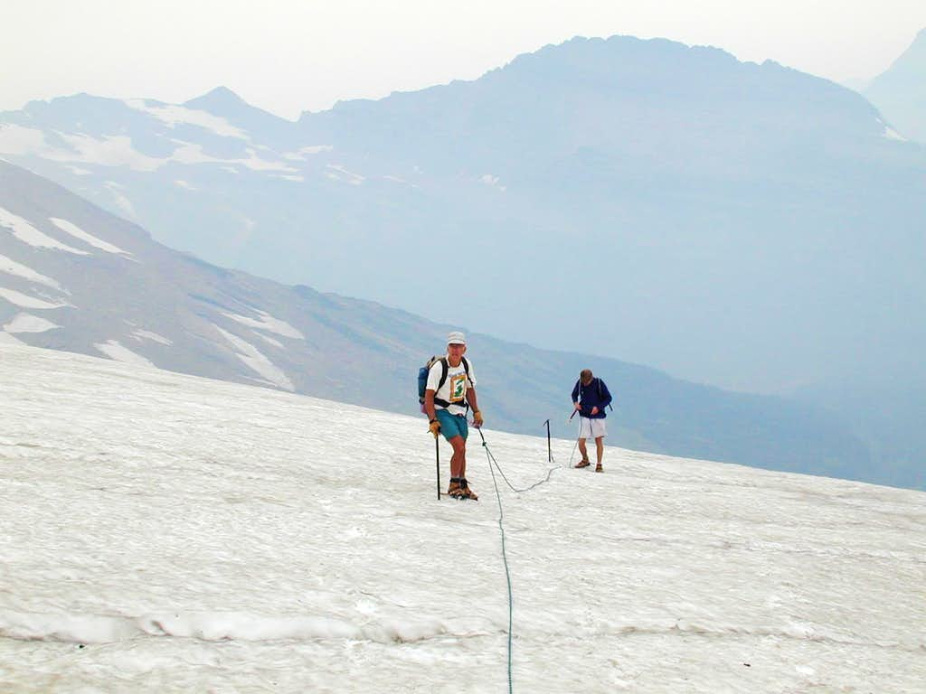 Blackfoot glacier traverse