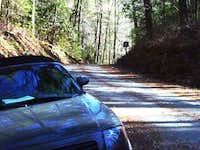 Rabun Bald Trail from USFS 7 (Hale Ridge Road)