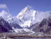 K2 from the junction of Vigne...