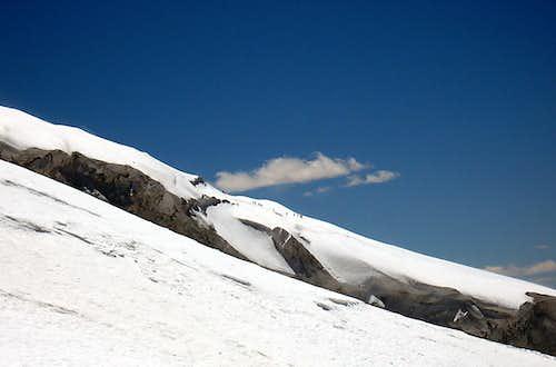 Climbers on Muztagh Ata