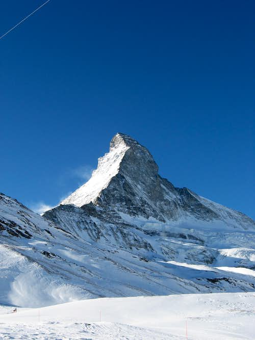 Matterhorn in winter