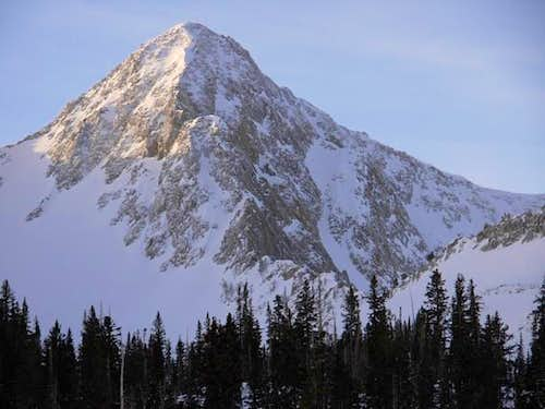 North Ridge in Winter
