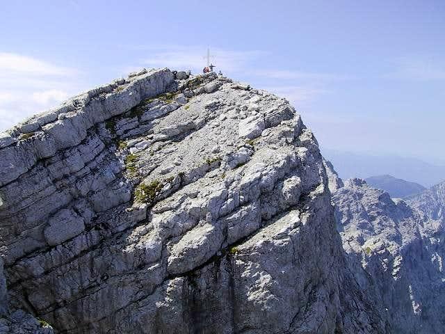 The summit of Hochtor, seen...