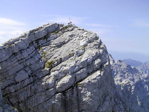 The summit of Hochtor, seen...