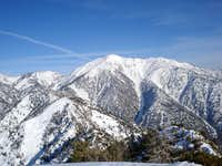 Views of Mount Baldy