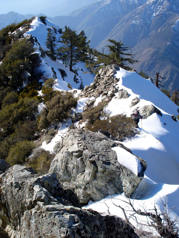Iron's southwest Ridge - nice view