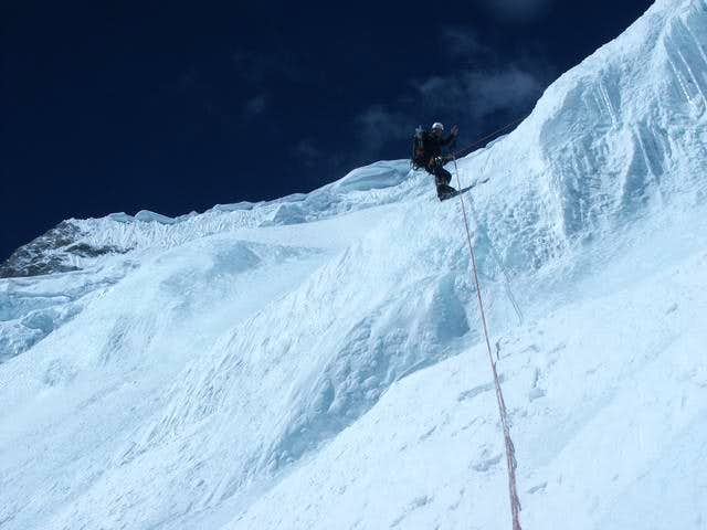 Abseiling in the wesrface