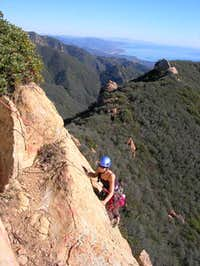 Cathedral Peak - South Face Route