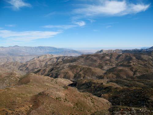 Atop Combs Peak 2/08