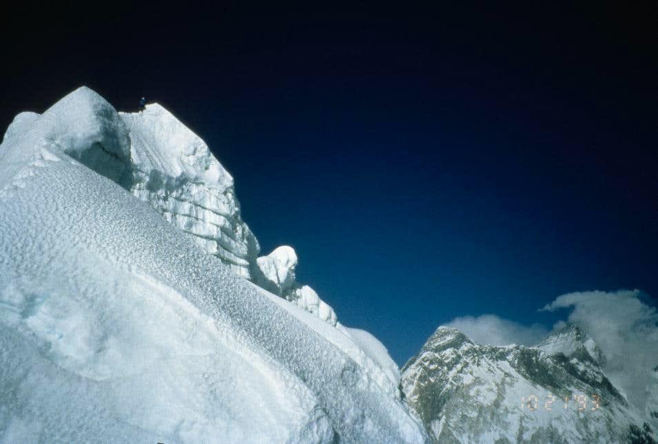 Summit of Cholatse
