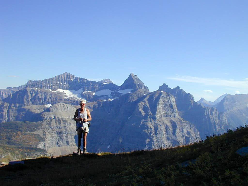 Vern on Mt Custer